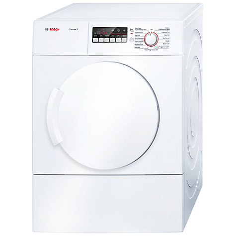 side vented tumble dryer