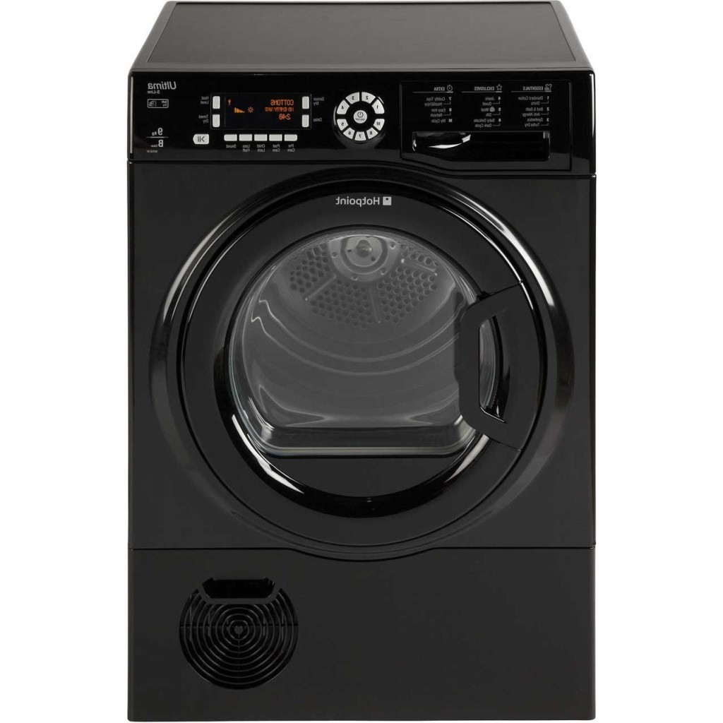 HotPoint Black Condenser Tumble Dryer
